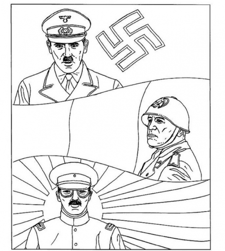 second_world_war_003 Material school coloring pages